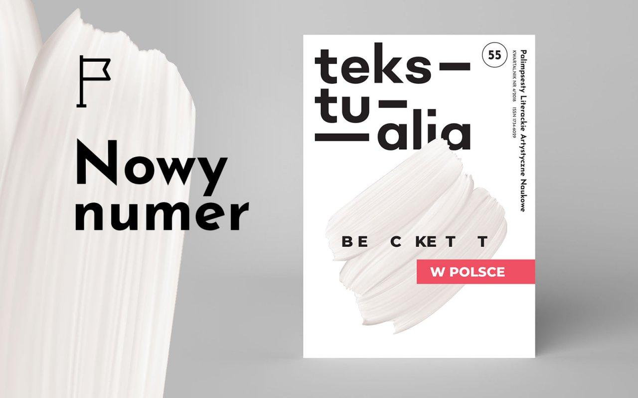 New issue of  Tekstualia magazine is now available on sale