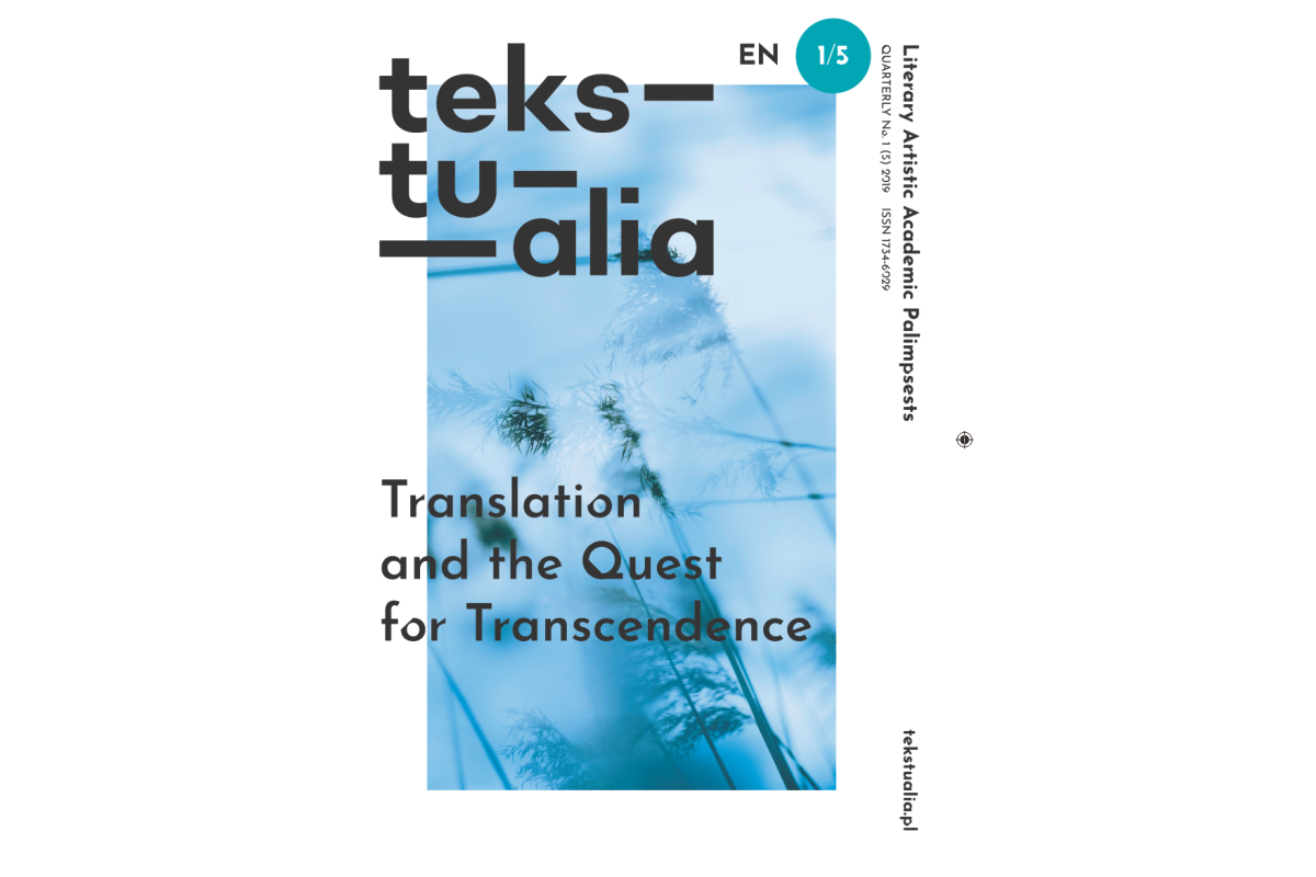 1 (5) 2019 Translation and The Quest for Transcendence